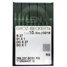 Groz-Beckert Needle DC x 27 100/16