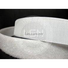 1' Magic Tape White & Black 1m pair
