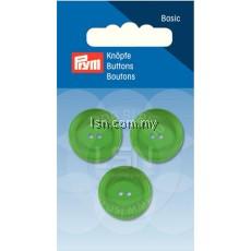 Button 2-Hole Standard Green 20 mm