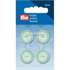 Button 2-Hole Standard Pastel Mint 18 mm