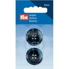 Button 4-Hole Suit/Trous. D'Blue 23 mm
