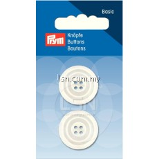Button 4-Hole m-o-p Imitation 23 mm (2 pcs)
