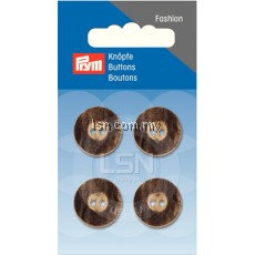 Button 2-Hole Stag Horn Imitat 18 mm