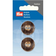 Button 2-Hole Stag Horn Imitat 23 mm