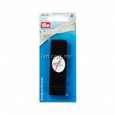 Bra extender 'soft comfort' 25 mm 3 x 2 hooks black