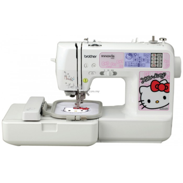 Lsn brother nv k embroidery sewing machine basic