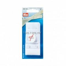 Bra extender 'soft comfort' 40 mm 3 x 2 hooks white