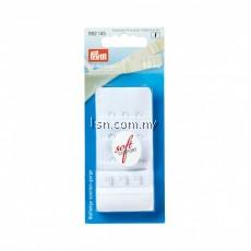 Bra extender 'soft comfort' 40 mm 3 x 3 hooks white