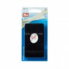Bra extender 'soft comfort' 50 mm 3 x 3 hooks black