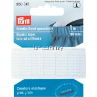 Prym Elastic Tape Lateral Stiffness, 30mm White