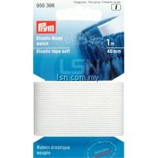 Prym Elastic Tape Soft 40mm White