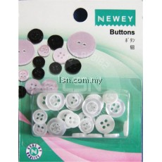 Buttons Pearl (9mm + 11mm)