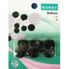 Buttons Black (15mm + 17mm)