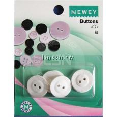 Buttons Linen (15mm) 2 holes