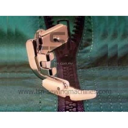Adjustable Zipper and Piping Foot (Teflon)