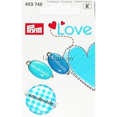Love Handmade Pins Blue