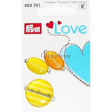 Love Handmade Pins Yellow