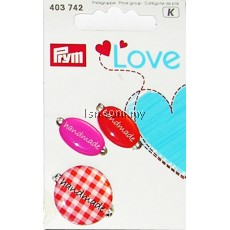 Love Handmade Pins Red