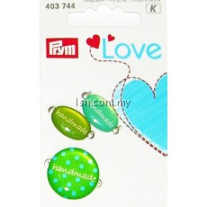 Love Handmade Pins Green