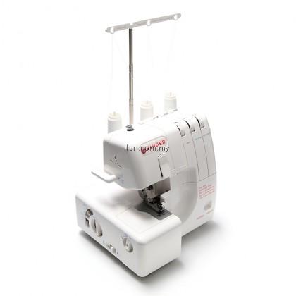 Mesin jahit Singer 14N555 3 Thread Overlock Machine
