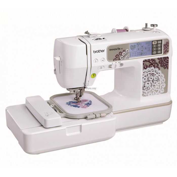 Lsn brother nv embroidery sewing machine basic
