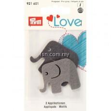 Love Felt Appliqués Elephant
