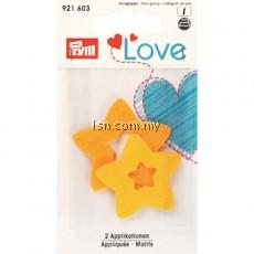 Love Felt Appliqués Star