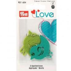 Love Felt Appliqués Bird