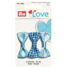 Love Bows Blue 45mm