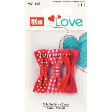 Love bows Red 45mm