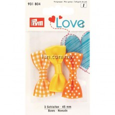 Love Bows Yellow 45mm