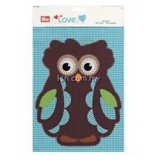 Love Motif Fabric Owl