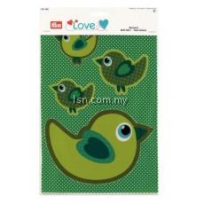 Love Motif Fabric Bird