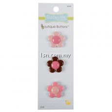 Boutique Buttons Flowers