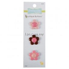 Boutique Buttons Flowers