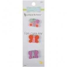 Boutique Buttons Butterflies