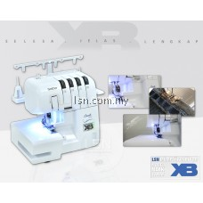 Mesin jahit Brother 2104D-XB Overlock Machine (Enhanced Edition)
