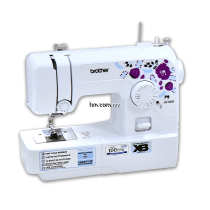 Mesin jahit Package XB1 - Combine Brother JA1400-XB Sewing Machine & Brother 2104D-XB Overlock Machine