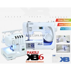 Package XB6 - Combine BrotherGS2700-XB Sewing Machine & Brother 2104D-XB Overlock Machine
