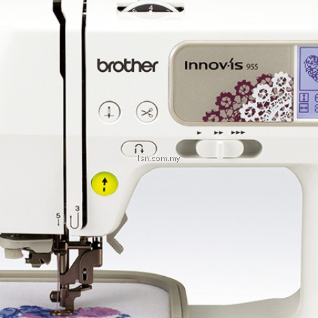 Package PRESTIJ - Brother NV955 Sewing & Embroidery Machine with Accessories Set