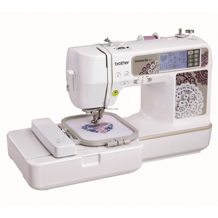 Lsn package prestij brother nv955 sewing embroidery for Decor 99 sewing machine