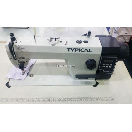 Mesin jahit lurus industri Typical GC6910 MD Direct Drive Industrial Lockstitch Sewing Machine