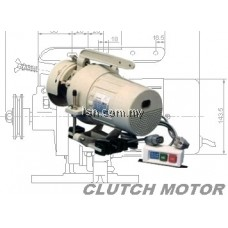Typical GN794D Direct Drive (3&4) Thread Overlock Machine