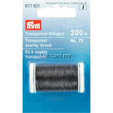 Transparent sewing thread dark col 200 m