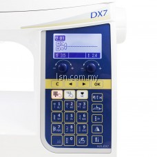 Mesin jahit Juki HZL-DX7 High Performance Sewing Machine