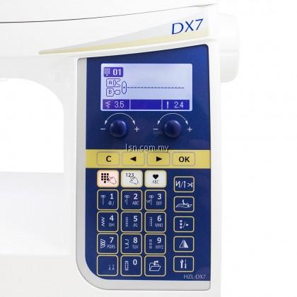 Mesin jahit Juki HZL-DX7 High Performance Sewing Machine