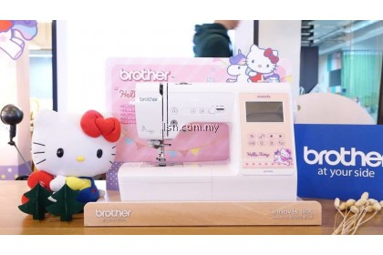 Mesin jahit Brother NV180K Sewing and Embroidery Machine (Hello Kitty Edition)