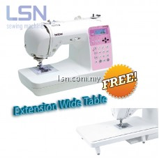 Brother NV55P Computerised Sewing Machine (Free Wide Table)