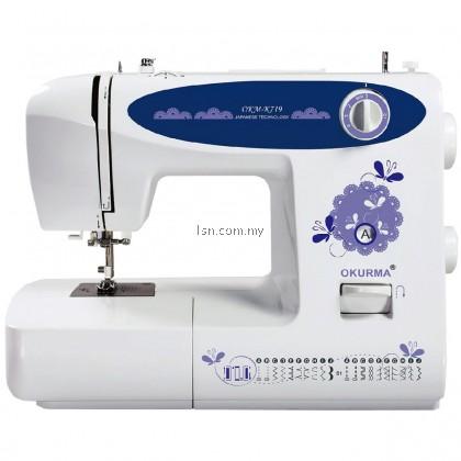 Mesin Jahit Okurma K719 Home Sewing Machine