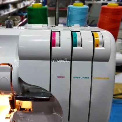 Okurma 720W Overlock Sewing Machine / Mesin Jahit Tepi